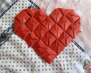 Как сделать сердце из модулей44