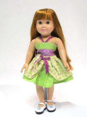 как сшить платье для куклы31