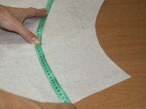 Как сшить юбку колокол12
