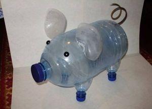 Кашпо из пластиковых бутылок34