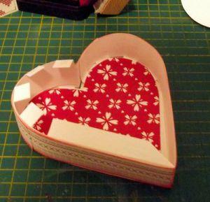 Коробочка-сердце своими руками7