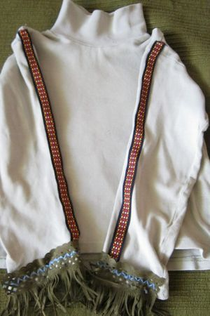 костюм индейца своими руками3