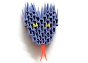 Модульное оригами - дракон14