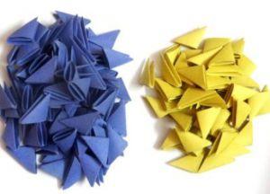 Модульное оригами - дракон1