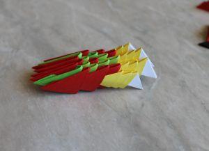 Модульное оригами - дракон51