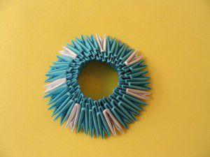 Модульное оригами - конфетница10