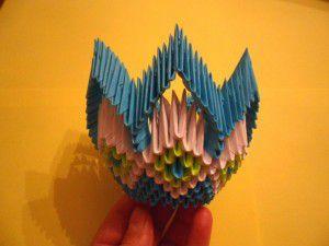 Модульное оригами - конфетница20