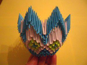 Модульное оригами - конфетница21