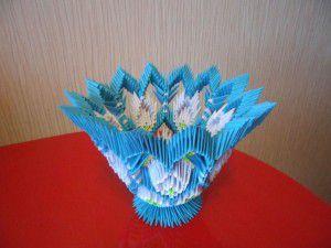 Модульное оригами - конфетница42