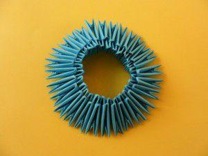 Модульное оригами - конфетница9