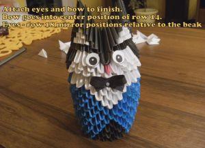 модульное оригами сова28