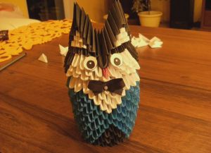 модульное оригами сова29