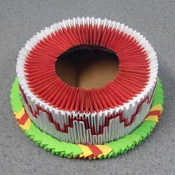 Модульное оригами - торт10