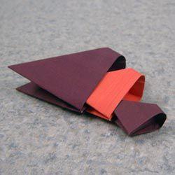 Модульное оригами - торт16