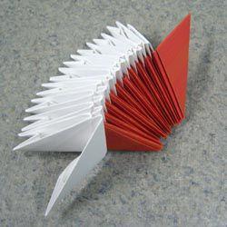 Модульное оригами - торт3