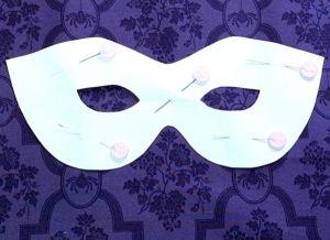 Новогодние маски своими руками2