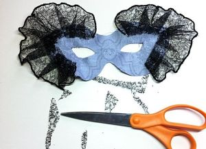 Новогодние маски своими руками6