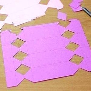 Как сделать из бумаги конфету1