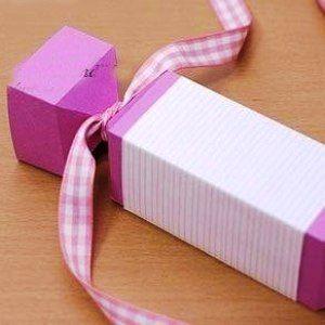 Как сделать из бумаги конфету5