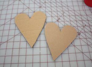 сердце из гофрированной бумаги26