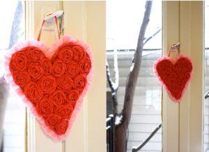 сердце из гофрированной бумаги34