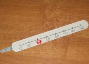 Термометр из картона своими руками8