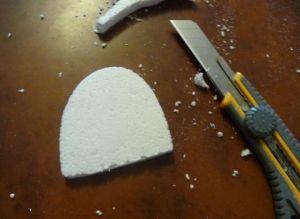 Туфелька из конфет - мастер-класс11