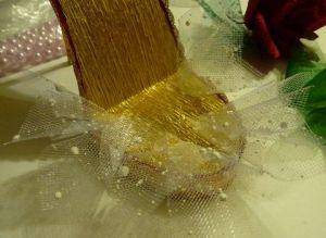 Туфелька из конфет - мастер-класс29