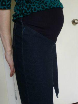 Юбка для беременных своими руками17