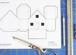 как сделать дом из бумаги фото 7