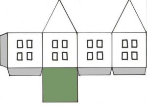 как сделать дом из бумаги фото 8