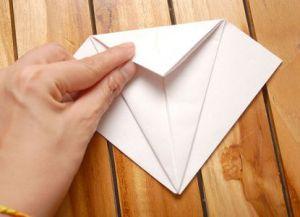 как сделать журавлика из бумаги фото 10