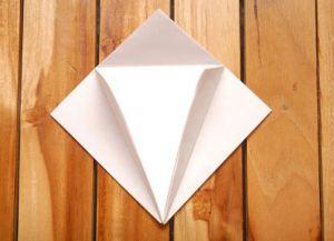 как сделать журавлика из бумаги фото 11