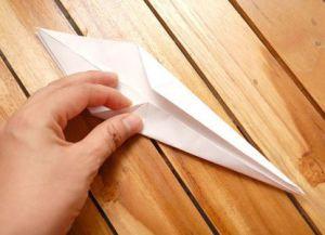 как сделать журавлика из бумаги фото 16