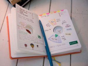 как украсить личный дневник 14