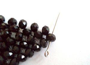 плетение воротников из бисера фото 15