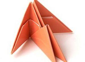 поделки из треугольных модулей фото 11