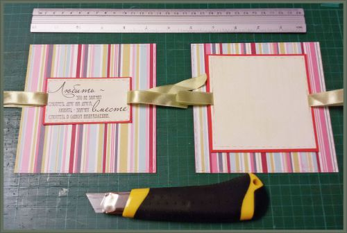 свадебные открытки скрапбукинг 11