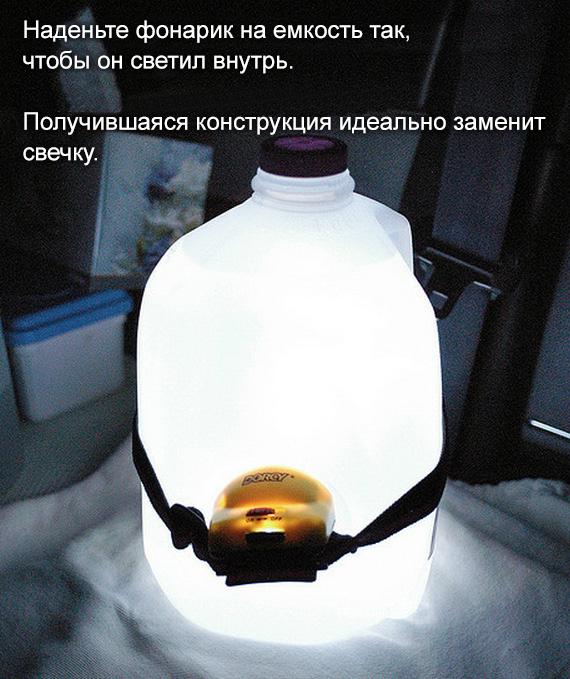 Банка с фонариком