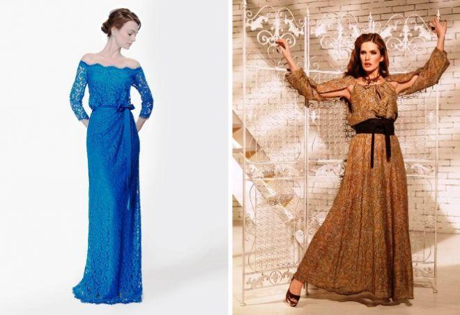 платье с длинным рукавом3