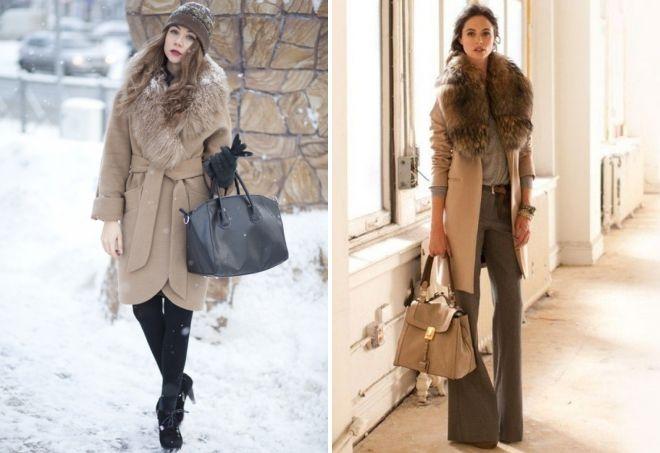 с чем носить классическое пальто 18