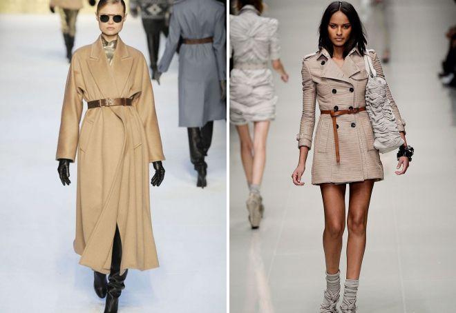 с чем носить классическое пальто 2