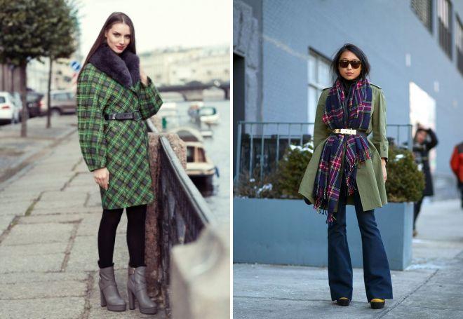 с чем носить классическое пальто 21