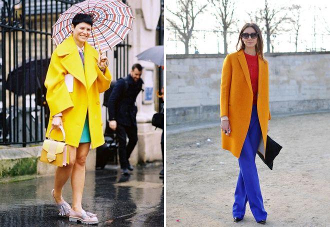 с чем носить классическое пальто 28