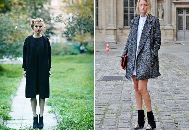 с чем носить классическое пальто 29