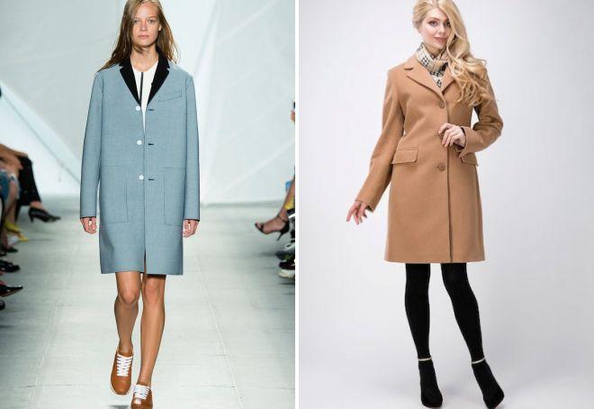 с чем носить классическое пальто 6