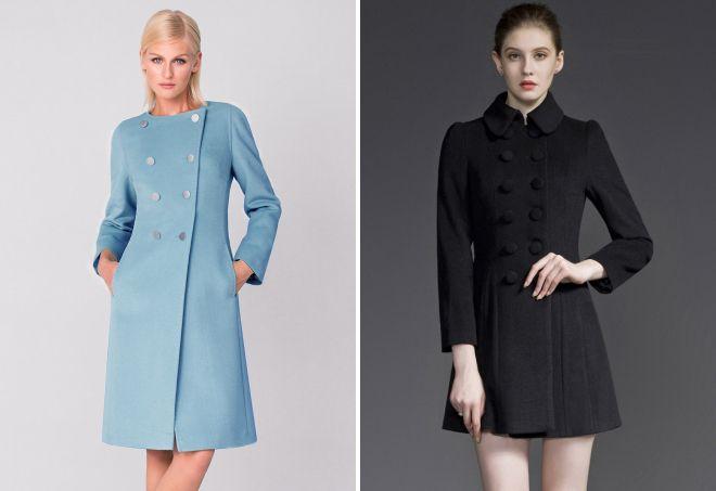 с чем носить классическое пальто 7