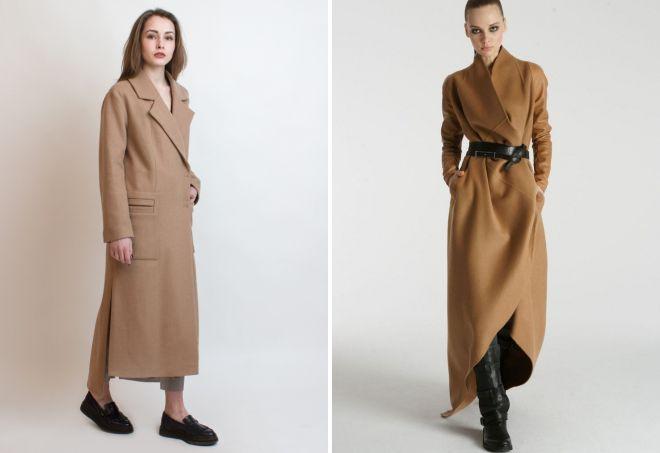 с чем носить классическое пальто 9