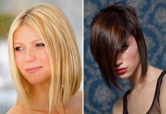 модные челки 2017 на средние волосы