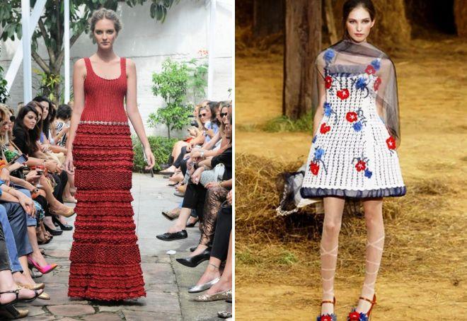 модные ретро платья